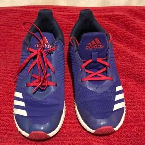 Adidas big girls sneakers size 5
